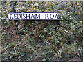 TM4083 : Redisham Road sign by Adrian Cable
