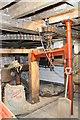 TL0150 : Bromham Mill - east hurst frame by Chris Allen