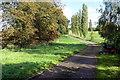 SP9527 : Entrance to Hockliffe Grange by Philip Jeffrey