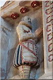TQ5802 : Monument to Sir John Parker, St Mary's church, Willingdon by Julian P Guffogg