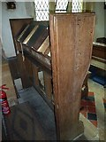 ST5906 : St Mary, Melbury Bubb: lectern by Basher Eyre