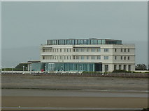 SD4264 : Seaward side of the Midland Hotel, Morecambe by Alexander P Kapp