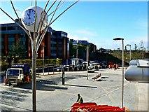 SU1585 : Swindon Station forecourt (1) by Brian Robert Marshall