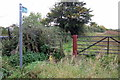 SP8528 : Stile on the path to Drayton Parslow by Philip Jeffrey