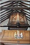 TQ5802 : Organ in St Mary's church, Willingdon by Julian P Guffogg
