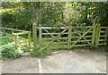 SE0125 : Gate and stile on Hebden Royd FP54 by Humphrey Bolton