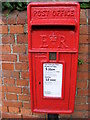 SP8744 : North Square Postbox by Adrian Cable