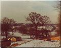 TQ2292 : Fields by The Ridgeway in 1976 by David Howard