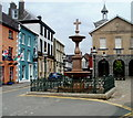 SN7634 : Lewis Memorial Fountain, Llandovery by Jaggery