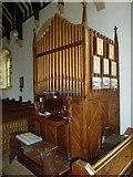 ST6902 : Alton St Pancras: organ by Basher Eyre