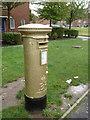 TQ3063 : Wallington: postbox № SM6 42, Mollison Drive by Chris Downer