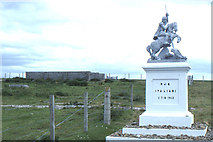 HY4800 : Lamb Holm: site of Italian Prisoner of War camp by Christopher Hilton