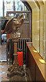 TQ4418 : St Margaret of Antioch, Isfield - Lectern by John Salmon