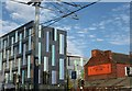 SK3487 : New Jessop West and a Sheffield icon by Dave Pickersgill