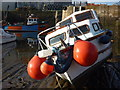 NT6879 : Leith Registered Fishing Boats : Scorpion (LH183) at Cromwell Harbour, Dunbar by Richard West