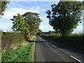 NZ1085 : B6343 heading east towards Morpeth by JThomas