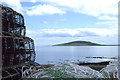 HY4022 : View of Gairsay, from the ferry terminal at Tingwall by Christopher Hilton