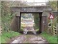 SK4128 : Bridle Road Bridge by Ian Calderwood