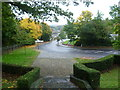 TQ3865 : Corkscrew Hill from the steps of the West Wickham War Memorial by Marathon