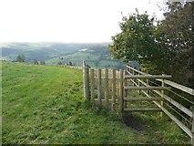 SE0125 : New gate on Hebden Royd Footpath 59 by Humphrey Bolton