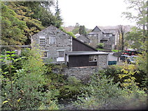NY3204 : Joinery Works, Elterwater by Peter Holmes