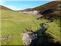 NS8613 : Old mine workings below Wanlock Dodd by Oliver Dixon