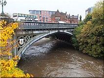 NS5666 : East side of Partick Bridge by Jim Barton