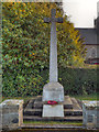 NY6665 : The War Memorial, Greenhead by David Dixon
