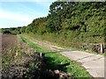 TF1570 : Old  road alongside North Spring Wood by Oliver Dixon