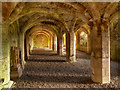 NY5563 : Lanercost Priory Refectory Undercroft by David Dixon