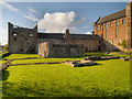 NY5563 : Lanercost Priory from the South by David Dixon