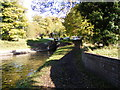 SO8685 : Junction Locks by Gordon Griffiths