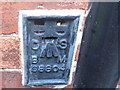 NZ2422 : Ordnance Survey  Flush Bracket S8804 by Peter Wood