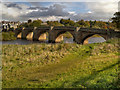 NY9864 : River Tyne, The Bridge at Corbridge by David Dixon