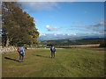 NY4922 : Alongside Winder Plantation, Heughscar Hill by Karl and Ali