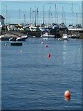 SN4562 : Aberaeron Harbour by Chris Allen
