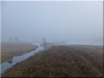 NN3049 : Mist on Rannoch Moor by Alan O'Dowd