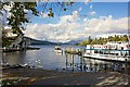 SD4096 : Landing Stage, Bowness on Windermere by Paul Buckingham
