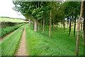 SP1515 : Footpath at Haycroft Bottom by Graham Horn