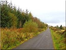 H1491 : Local road, Corraffin by Richard Webb