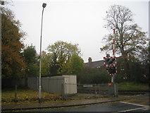 TA2609 : Littlefield Lane Level Crossing by Jonathan Thacker