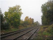 TA2609 : The railway west of Littlefield Lane by Jonathan Thacker