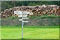 SP1614 : Sherborne crossroads by Graham Horn