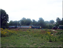 TR2548 : East Kent Railway - Shepherdswell Station (Heritage Railway) by Helmut Zozmann