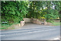 TG1507 : The Old Rectory (entrance), Watton Rd by N Chadwick