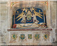 SU8504 : Tomb of Bishop Robert Sherburne, Chichester Cathedral by Julian P Guffogg