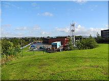 SJ9297 : Community Fire Station, Ashton-under-Lyne by John Topping