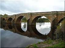 NY9170 : Chollerford Bridge over the River North Tyne by Russel Wills