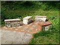 SO2801 : Memorial seats, Pontypool Park by Jaggery