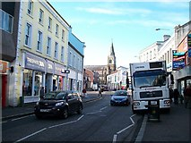 J2664 : Bow Street and the corner of Market Place, Lisburn by Eric Jones